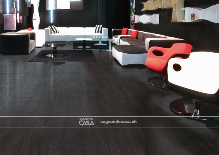 Ceramica Rondine Contract Anthracite  1
