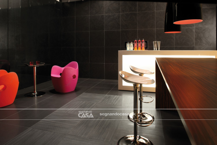 La Fabbrica Ceramiche 5th Avenue Black Chic Moon  5