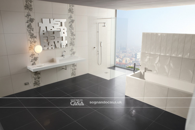 La Fabbrica Ceramiche 5th Avenue Black Chic Moon  6
