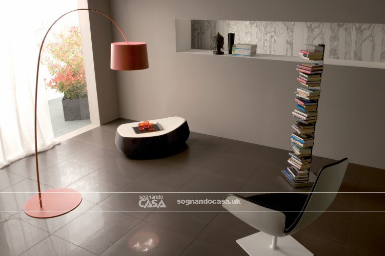 La Fabbrica Ceramiche 5th Avenue Black Chic Circle  2